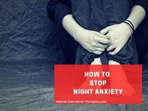 night anxiety how to stop